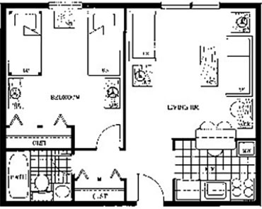 One Bedroom at Beaver Hill