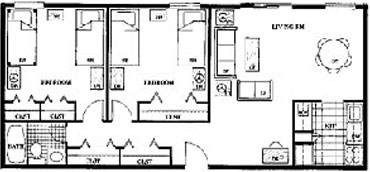 Premier Two Bedroom at Beaver Hill
